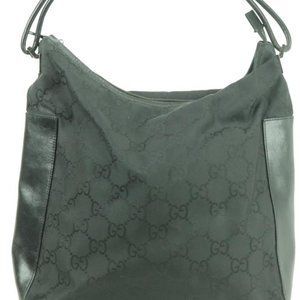 Gucci Black Monogram GG Hobo 859103